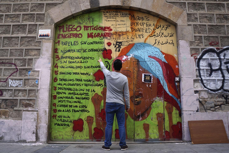 L'Ajuntament de Barcelona inicia el procediment per desallotjar 35 persones migrades que viuen a l'antiga Escola Massana - directa.cat