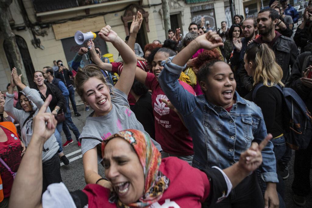 Image result for quatre okupacions feministes anunciades el 8-M